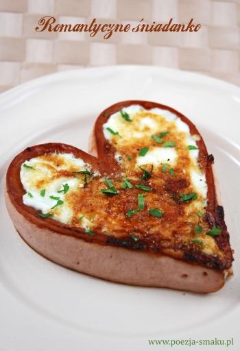 Romantyczne śniadanko