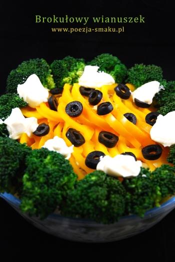 Brokułowy wianuszek