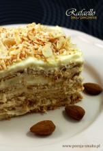 Rafaello - ciasto bez pieczenia