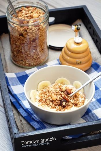 Granola orzechowo-kokosowa domowa