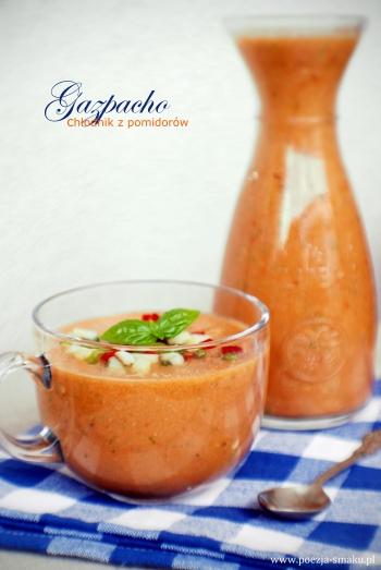 Gazpacho chłodnik z pomidorów