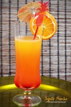 Tequila Sunrise drink