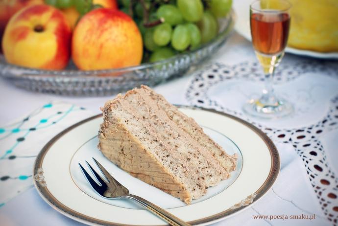 Tort orzechowy - tradycyjny na imieniny
