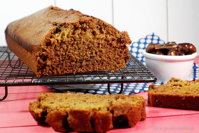 Daktylowiec - ciasto wegańskie