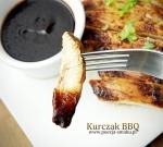 Pierś z kurczaka w sosie balsamicznym BBQ