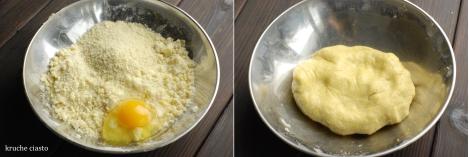 Kruche ciasto migdałowe