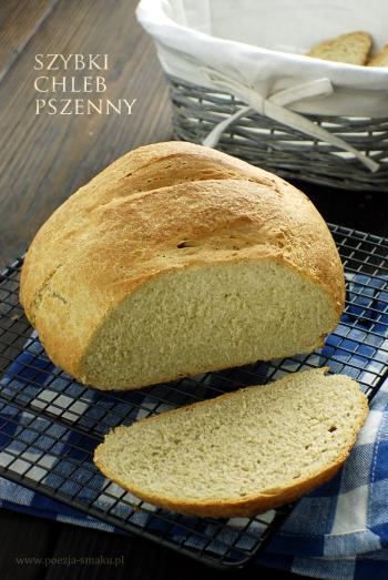 Szybki chleb pszenny