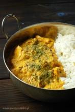 Butter Chicken - czerwone, indyjskie curry z kurczaka