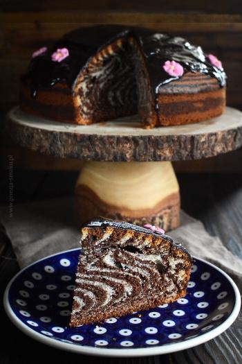 Ciasto zebra - babka w zebrę