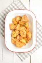 Chrupiące pieczone ziemniaki z piekarnika