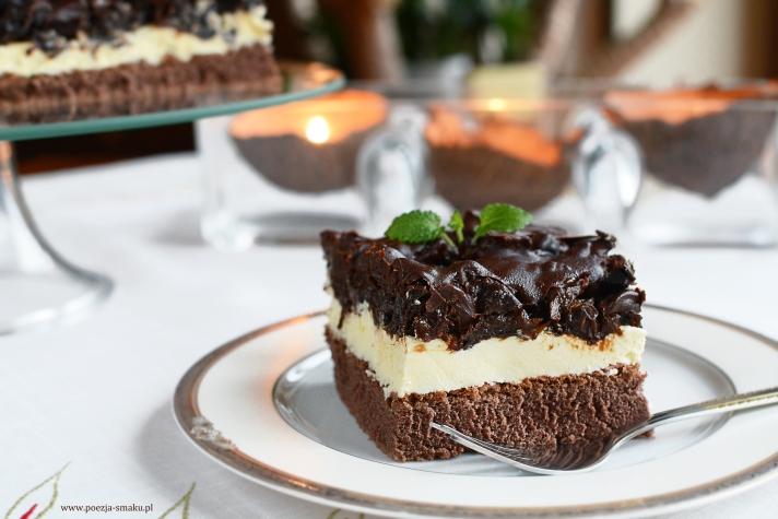 Ciasto czekoladowa śliwka - śliwka w czekoladzie