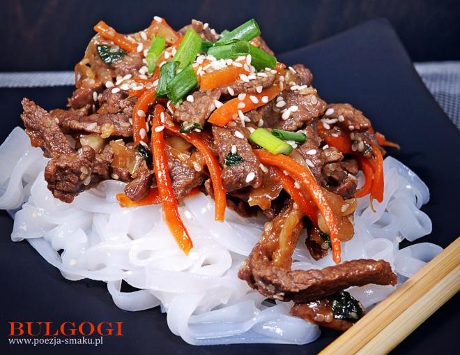 Bulgogi - koreański przysmak z wołowiny