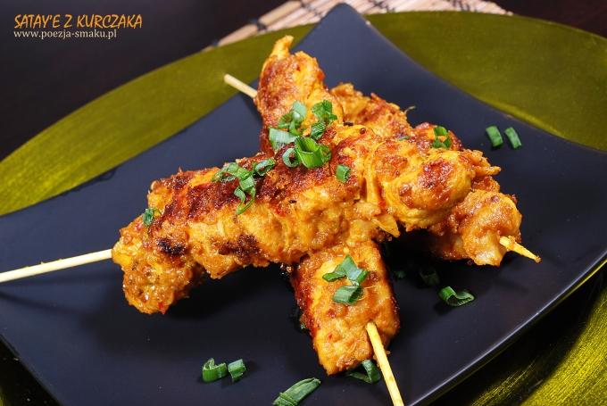 Sataye z kurczaka