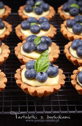 Tartaletki - babeczki z borówkami