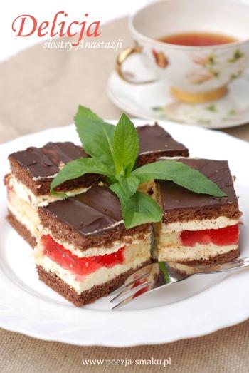Ciasto delicja siostry Anastazji