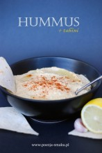 Hummus - pasta z ciecierzycy i tahini