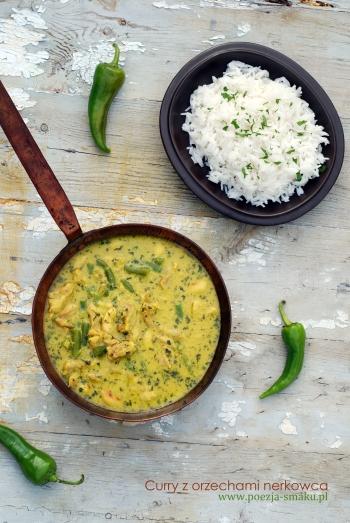 Curry z orzechami nerkowca