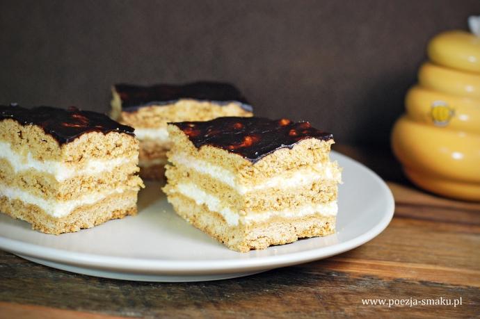 Miodowiec ciasto