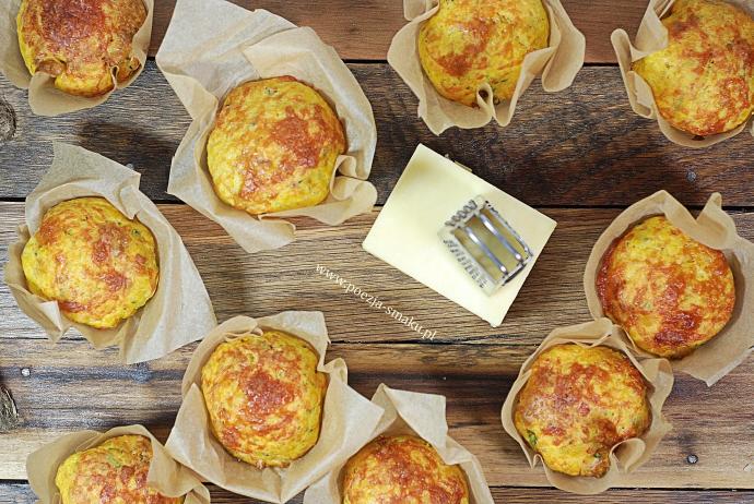 Wytrawne muffinki z serem