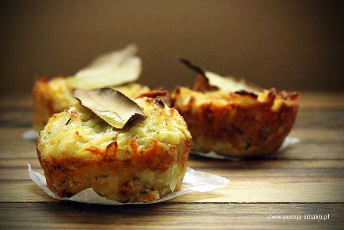 Muffinki ziemniaczane
