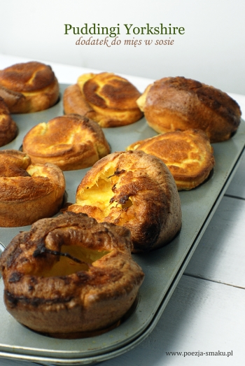 Puddingi Yorkshire - dodatek do mięs