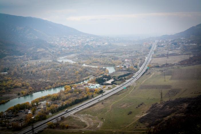 Gruzja - autostrada