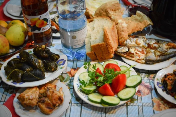 Gruzja - jedzenie
