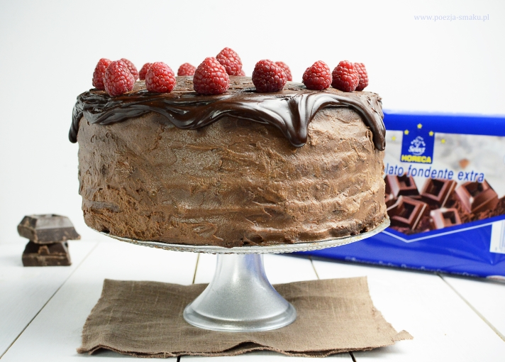 Tort intensywnie czekoladowy