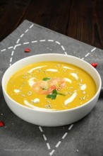 Zupa krem z batatów i tahini