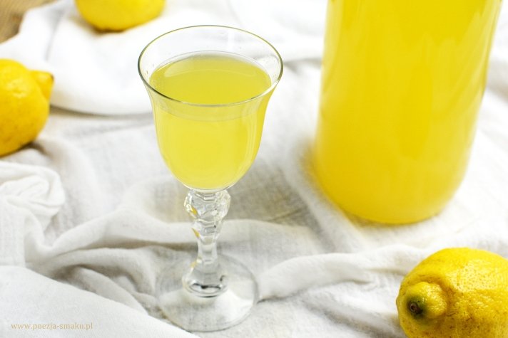 Cytrynówka - nalewka z cytryn