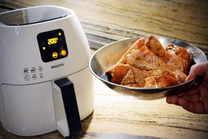Airfryer Philips - kurczak Cayenne