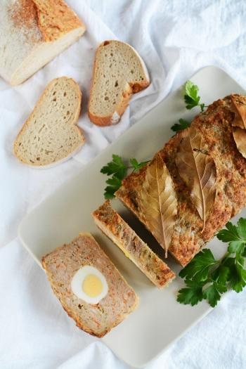 Wielkanocny klops (pieczeń rzymska)