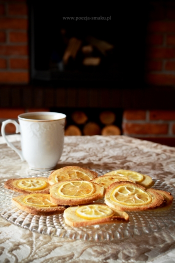 Cytryniaczki - ciasteczka z cytryną