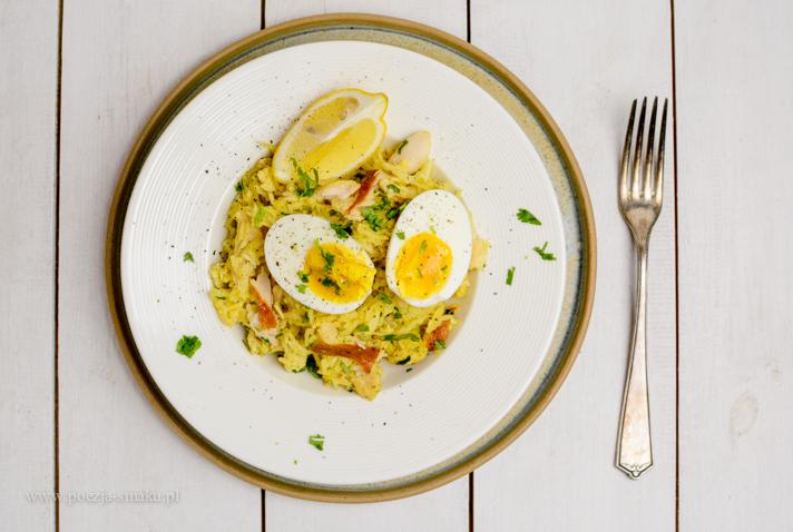 Kedgeree - jednogarnkowa potrawka z wędzonej ryby