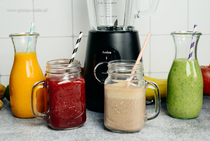 Zdrowe smoothies - dodaj sobie mocy na zimę