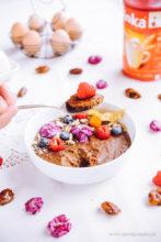 Budyń jaglany - nowINKA na zdrowe śniadanie