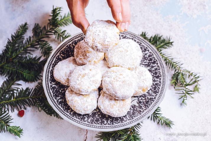 Kurabiedes - greckie ciasteczka na Boże Narodzenie