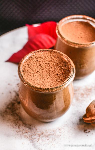 Mus czekoladowy bez nabiału