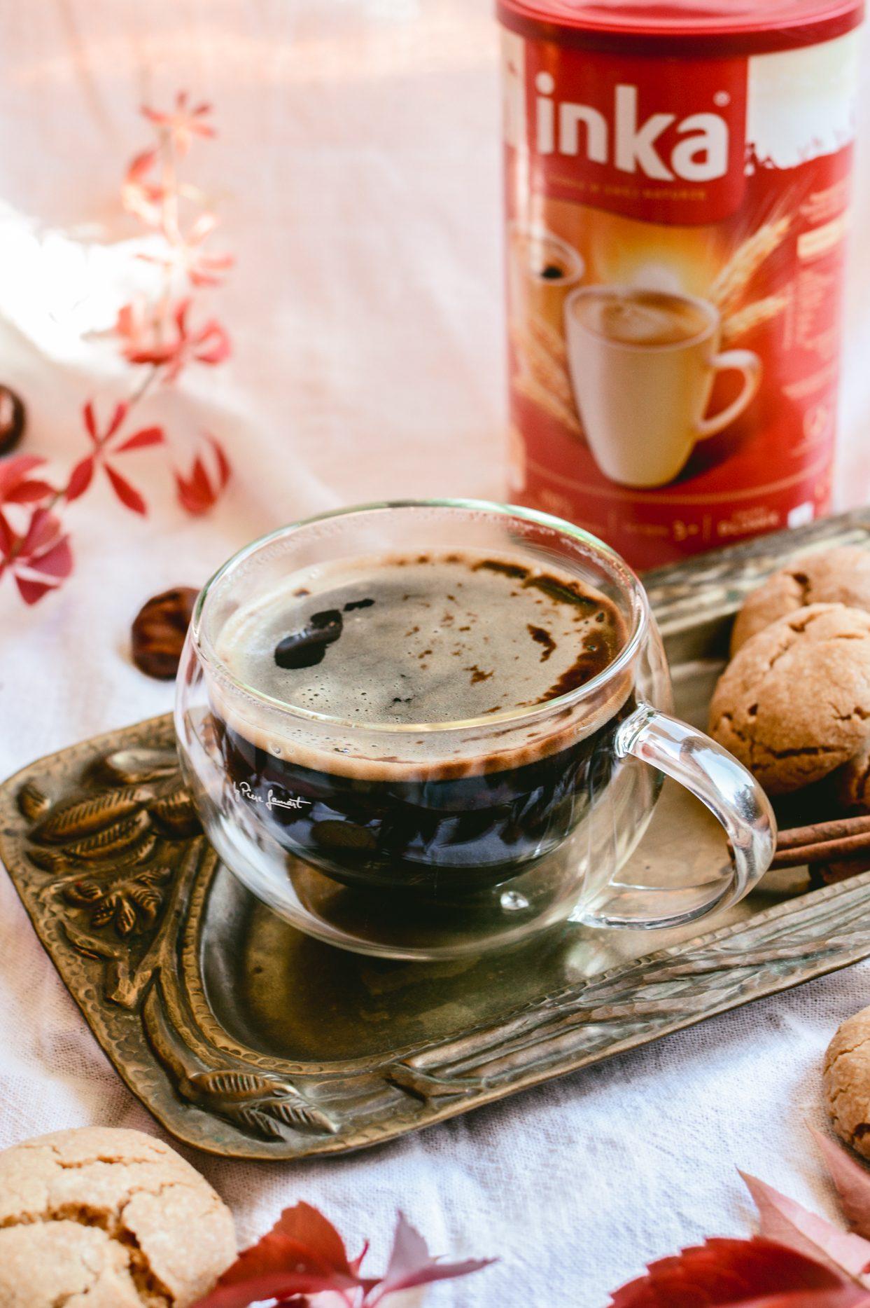 Kawa imbirowa z ciasteczkami