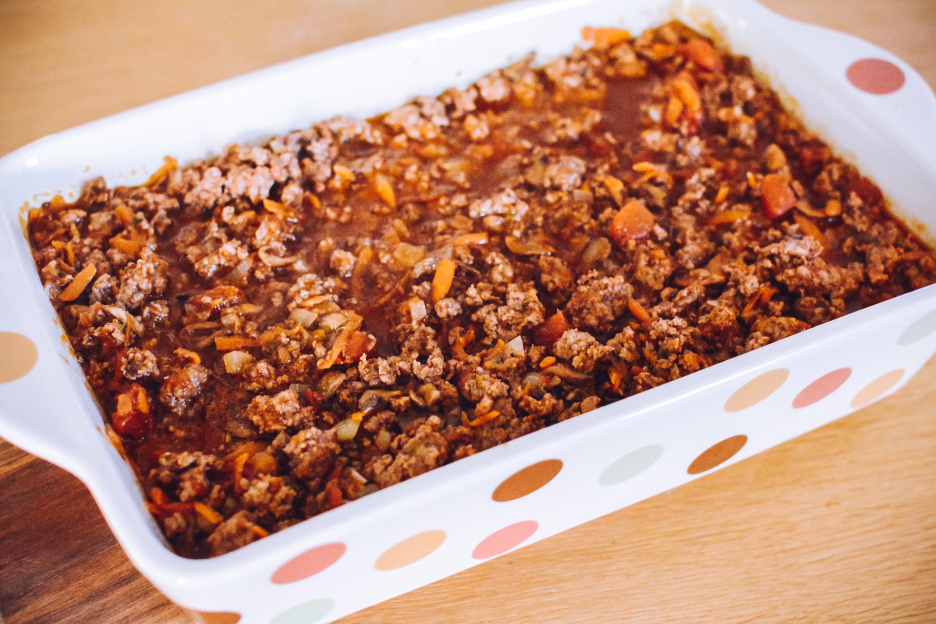 Zapiekanka pasterska z batatami - rodzinny obiad