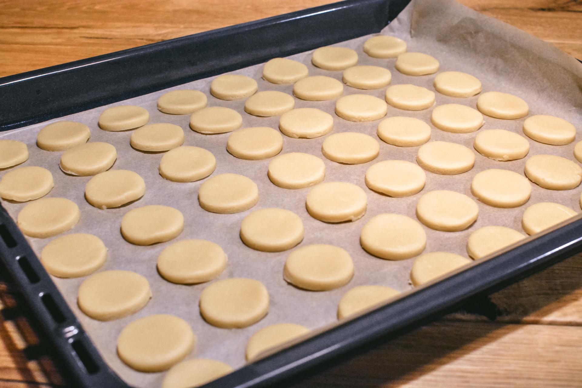 Ciastka warszawskie - kruche ciasto