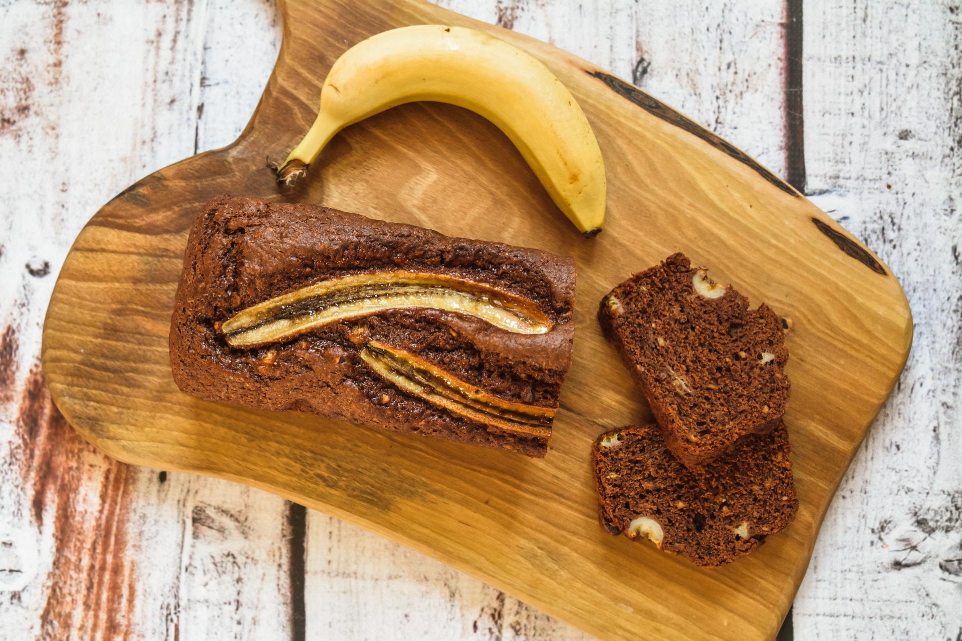 Czekoladowy chlebek bananowy - prosty i pyszny
