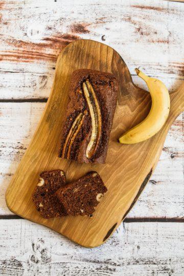 Czekoladowy chlebek bananowy - najlepsze ciasto