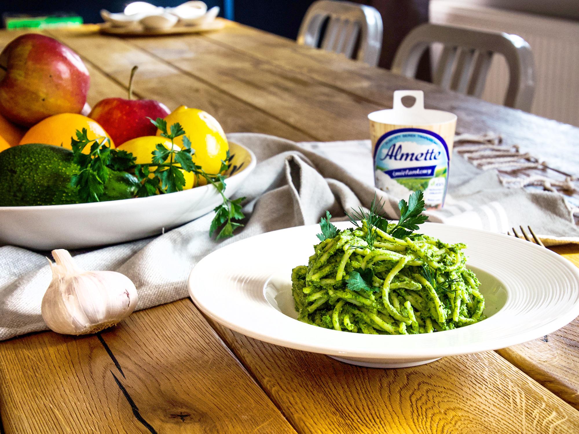 Pesto ziołowe - z resztek