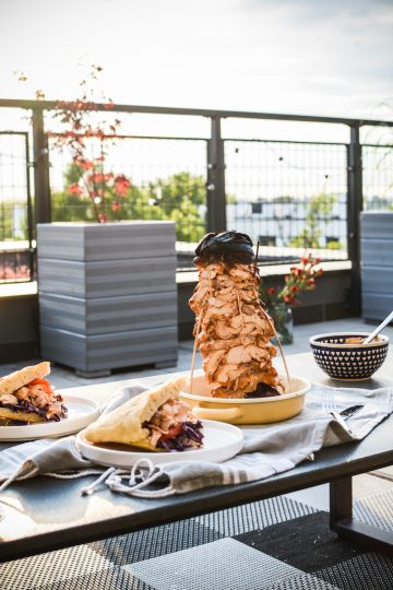 Gyros z kurczaka - domowy kebab z piekarnika - pyszny