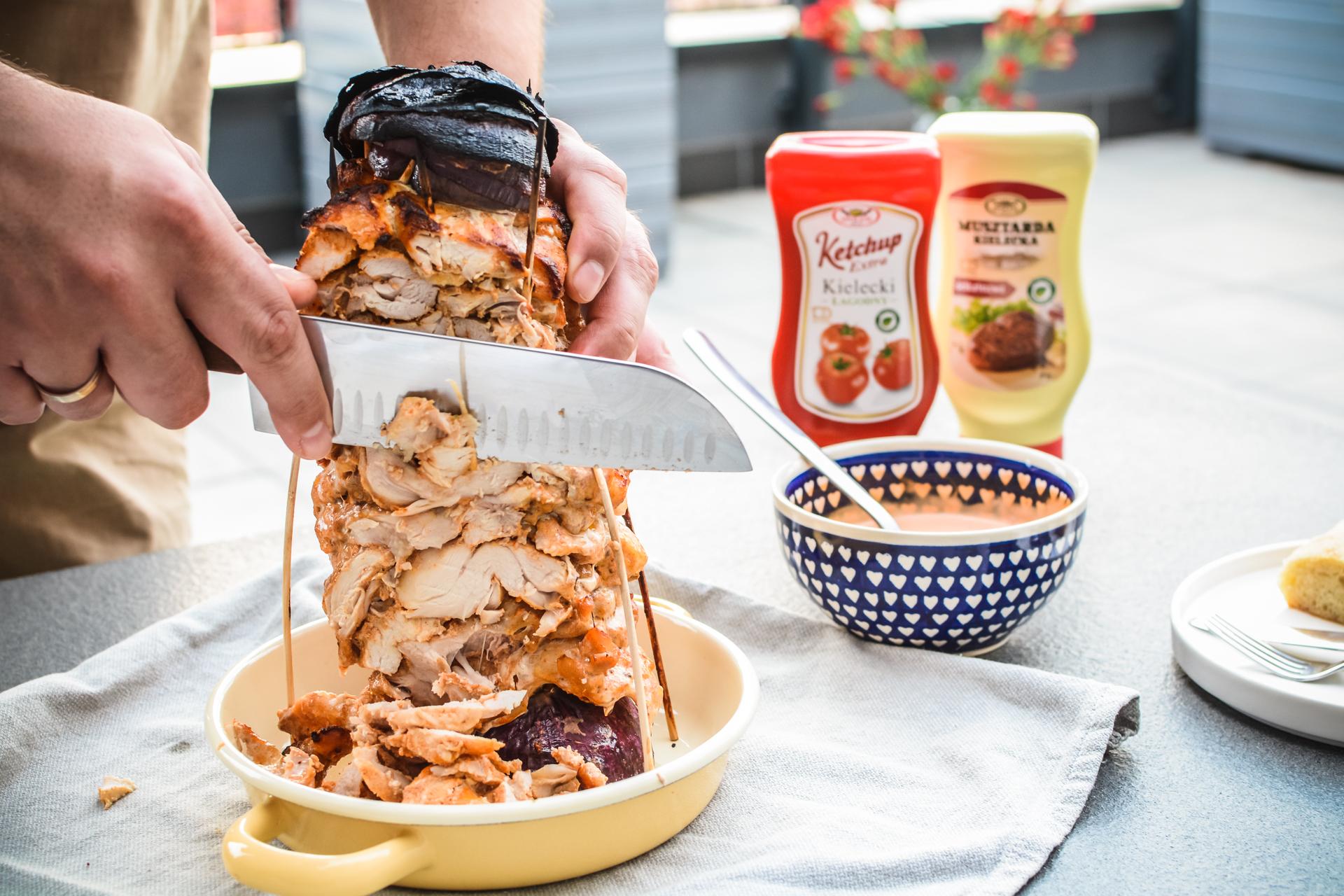 Gyros z kurczaka - domowy kebab z piekarnika 3
