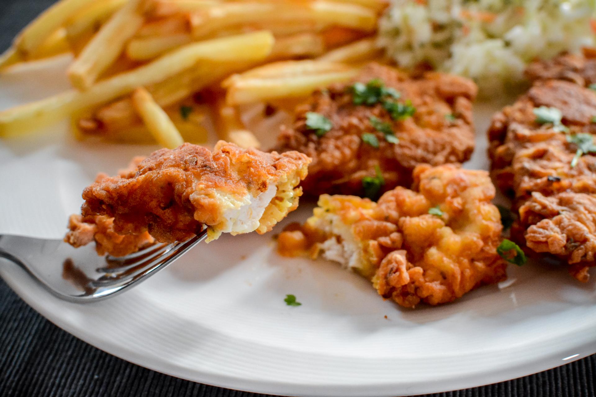 Pierś z kurczaka w cieście naleśnikowym 2