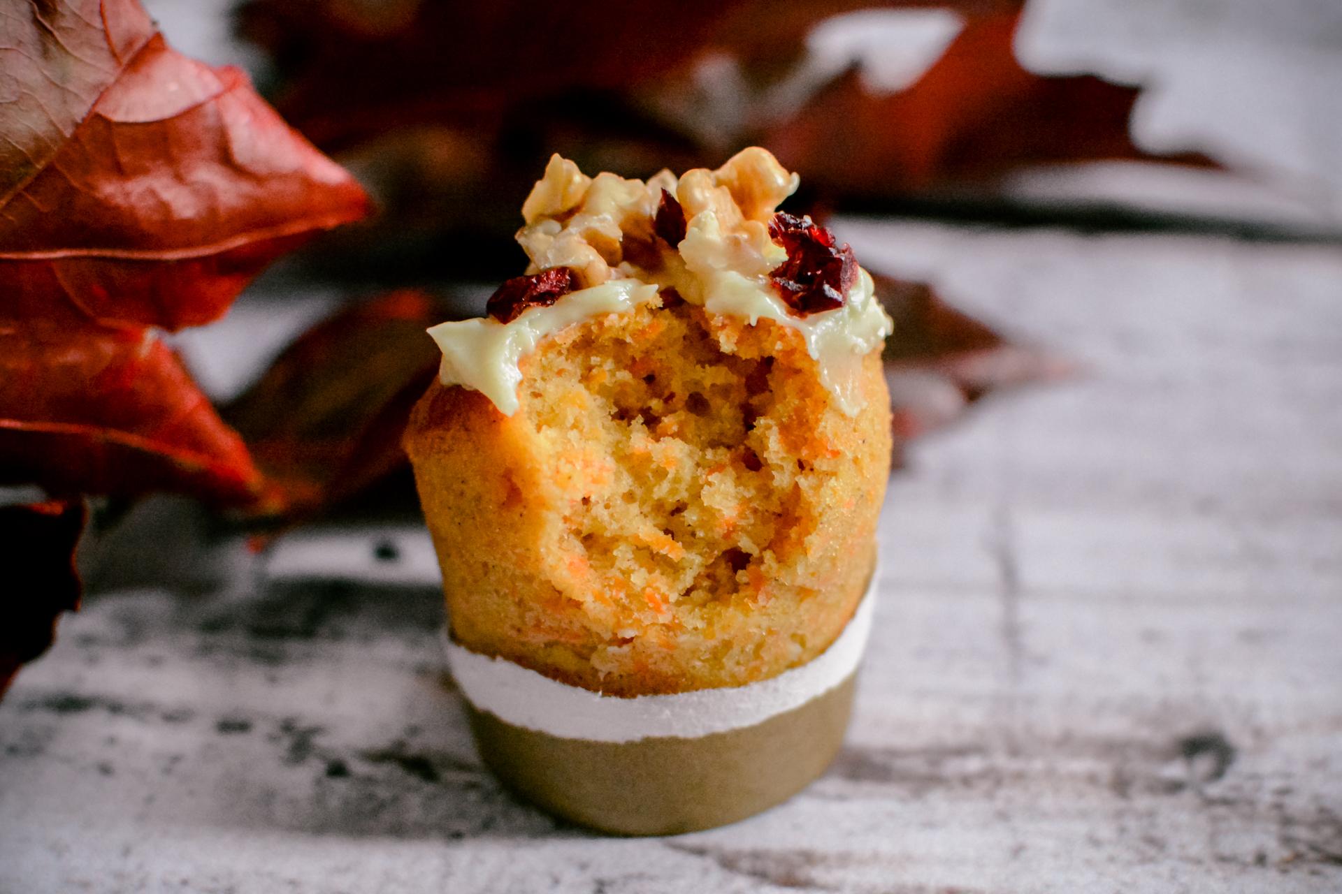 Muffinki marchewkowe - najlepsze babeczki