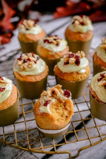 Muffinki marchewkowe - złote babeczki
