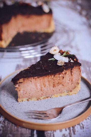 Sernik truflowy - mocno czekoladowy